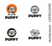 puppy logo design   Shutterstock .eps vector #1355011058