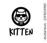 kitten logo design   Shutterstock .eps vector #1355014985