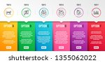 bio tags  stock analysis and... | Shutterstock .eps vector #1355062022