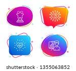 heartbeat  artificial... | Shutterstock .eps vector #1355063852