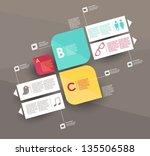 conceptual vector design... | Shutterstock .eps vector #135506588