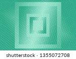 beautiful mint abstract... | Shutterstock . vector #1355072708