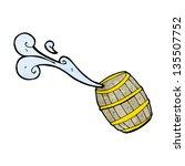 cartoon barrel of water | Shutterstock . vector #135507752