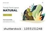 white modern flat design... | Shutterstock .eps vector #1355151248
