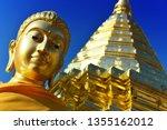 wat phra that doi suthep  a... | Shutterstock . vector #1355162012