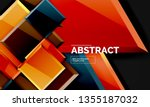squares and triangles...   Shutterstock .eps vector #1355187032