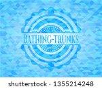 bathing trunks light blue... | Shutterstock .eps vector #1355214248