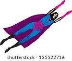 vector illustration of super... | Shutterstock .eps vector #135522716