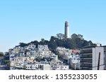 san francisco views | Shutterstock . vector #1355233055