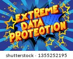 extreme data protection  ... | Shutterstock .eps vector #1355252195