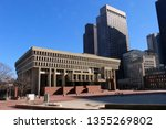 City Hall Plaza In Downtown...