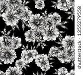 flower print. elegance seamless ... | Shutterstock . vector #1355279558