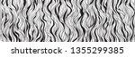 wavy background. hand drawn... | Shutterstock .eps vector #1355299385