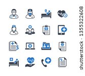 medical   healthcare services... | Shutterstock .eps vector #1355322608