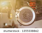 disc brake of the vehicle for... | Shutterstock . vector #1355338862
