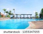 Landscape Swimming Pool Blue...