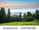 scenic view from mt. auerberg... | Shutterstock . vector #1355364488