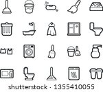 bold stroke vector icon set  ... | Shutterstock .eps vector #1355410055