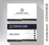 business model name card modern ... | Shutterstock .eps vector #1355442818