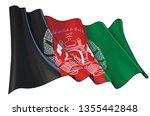 vector illustration of a waving ...   Shutterstock .eps vector #1355442848