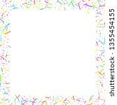 sprinkles grainy. cupcake... | Shutterstock .eps vector #1355454155