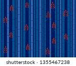 horizontal seamless bamboo... | Shutterstock .eps vector #1355467238
