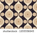 seamless vector pattern design... | Shutterstock .eps vector #1355558345