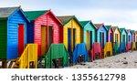 Colourful Beach Houses In Cape...
