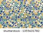 islamic ornamental background... | Shutterstock .eps vector #1355631782