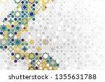 islamic ornamental background... | Shutterstock .eps vector #1355631788