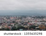 mae sai aerial view from wat... | Shutterstock . vector #1355635298