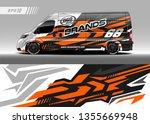 Cargo Van Decal Design Vector....
