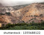 view of the hills around the... | Shutterstock . vector #1355688122