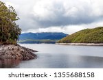 views of lake burbury  which is ... | Shutterstock . vector #1355688158