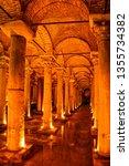 Basilica Cistern. The Ceiling...