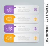 business infographics template... | Shutterstock .eps vector #1355760662