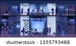professional it engineers... | Shutterstock .eps vector #1355793488