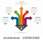 infographic design template... | Shutterstock .eps vector #1355815385