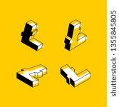 set of isometric symbols of...   Shutterstock .eps vector #1355845805