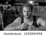 grabbing a drink after work.... | Shutterstock . vector #1355854598