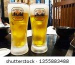 osaka  jp   march 27  2019  two ...   Shutterstock . vector #1355883488