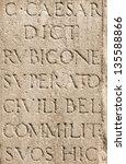 Roman Latin Letters   Julius...