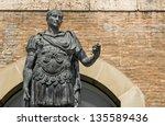 Statue Of Gaius Julius Caesar...