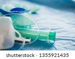 medical waste disposal... | Shutterstock . vector #1355921435
