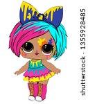 Colorful Lol Cute Girl Baby
