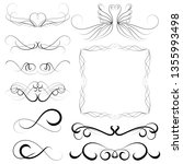 vector illustration set of... | Shutterstock .eps vector #1355993498