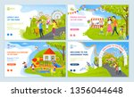 lovely day and spring festival... | Shutterstock .eps vector #1356044648