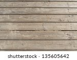 Weathered Wooden Boardwalk On...