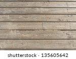 Weathered Wooden Boardwalk On...