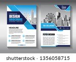 brochure design  cover modern... | Shutterstock .eps vector #1356058715